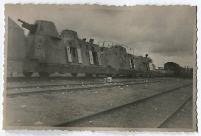 German Wwii Archive Photo: Armoured Train