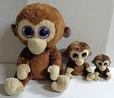 TY BEANIE BOOS - COCONUT the Monkey (Solid Eye Color) (6 inch ... 22e9607f031