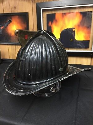 Antique Fire Helmet- Cairns & Brothers Aluminum Senator !!!!