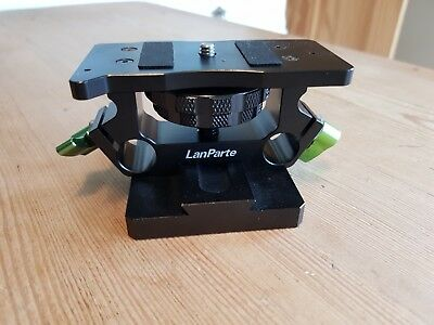 LanParte QRB-01 Quick Release Baseplate Tripod Mount for DSLR 15mm Rig GH3 GH4