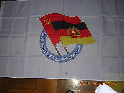 Flag of the The Society for German–Soviet Friendship DSF East Germany Ensign