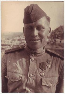 Russia Wwii Heroes Serie Photo: Artillery Officer, Hero Of Soviet Union