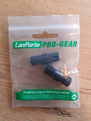 Lanparte 15mm Rod Connector Rod Extensions for 15mm Standard Rods