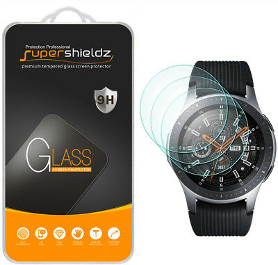 3X Supershieldz Tempered Glass Screen Protector for Samsung Galaxy Watch (46mm)