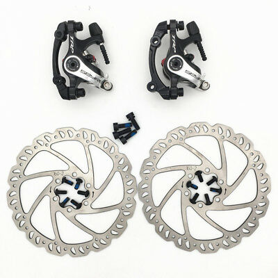 TRP SPYRE Alloy Mechanical Disc Brake Caliper w/ 160mm Rotor Front and Rear Set