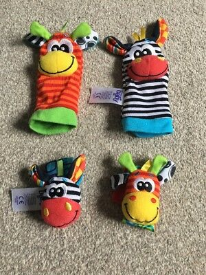 Baby Wrist & Ankle Rattles