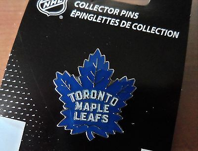 Official TORONTO MAPLE LEAFS NEW LOGO PIN BADGE New NHL Pack Canada