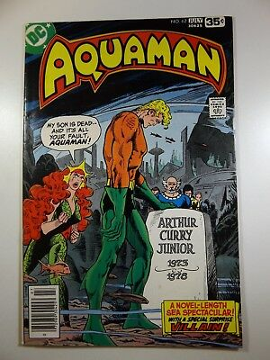 "Aquaman #62 ""And The Walls Came Tumbling!"" Sharp VF Condition!!"