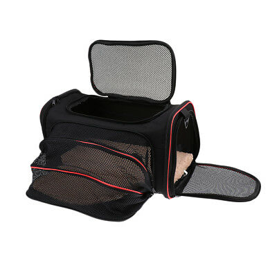Expandable Soft Pet Carrier Dog Cat Puppy Portable Travel Carry Cage Bag