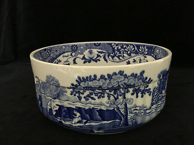 Spode Blue Italian Imperial Cookware soufflé dish  - lovely condition