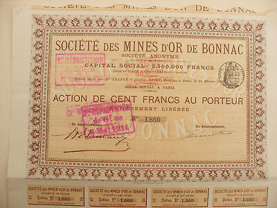 Mines D' Or De Bonnac.
