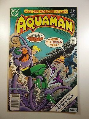 "Aquaman #57 ""A Life For A Life!"" VF- Condition!!"