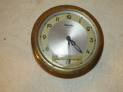 Vintage Forestville 8 Day Clock Works Framed with Convex Glass, W. Germany VGC