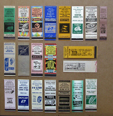 21 Diff Auto Tire Stock Cuts, Images Unstruck Matchcovers