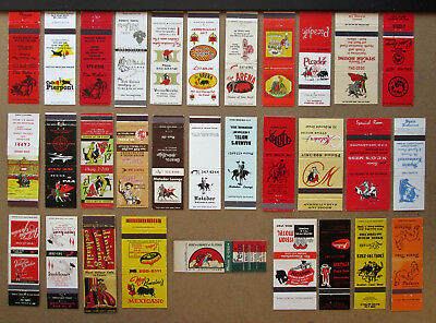31 Diff Bullfighting Themed Unstruck Matchcovers
