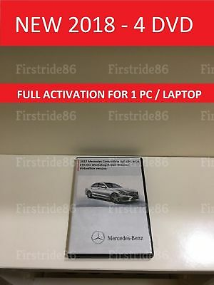 NEW 2018 Mercedes WIS ASRA & EPC Dealer Service Repair Workshop Manual All Class