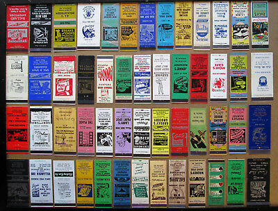 52 Diff Stock Cuts, Images Unstruck Matchcovers