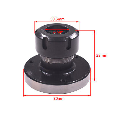 1pc ER-32 Collet Chuck 80mm Diameter Bearing Steel CNC Lathe Milling Machine Par