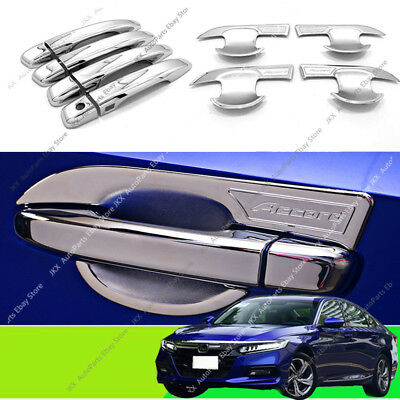FIT FOR HONDA ACCORD 03-07 CHROME DOOR HANDLE BOWL CUP CAVITY INSERT CAVITY TRIM