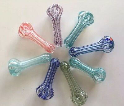 """3"""" Collectible Glass Hand Bowl Pipe"""