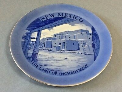 New Mexico Decorative Porcelain State Plate - The Land of Enchantment