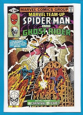 Marvel Team-Up #91_March 1980_Vf/nm_Spider-Man_Ghost Rider_Bronze Age Marvel!