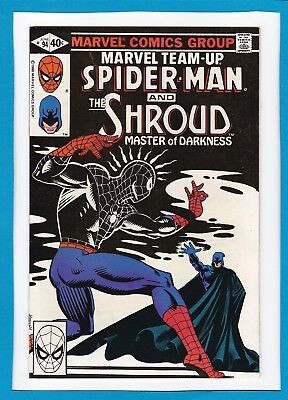 Marvel Team-Up #94_June 1980_Nm Minus_Spider-Man_The Shroud_Bronze Age Marvel!