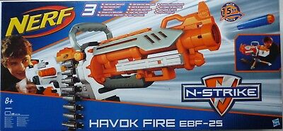 NERF N-Strike Elite Vulcan/Havok Fire EBF-25 Full-Auto Belt-Fed Blaster (BNIB)