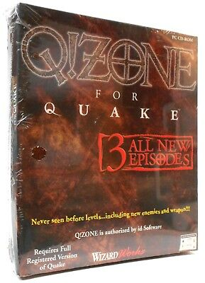 Q!ZONE for Quake - PC CD-ROM New Sealed