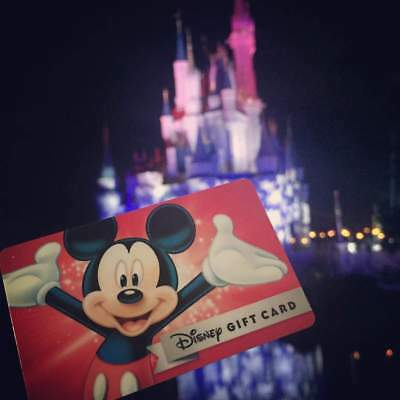 Disney Gift Cards $115 Free shipping