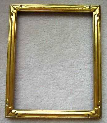 Newcomb Macklin frame with label, authentic, 8 x 10 antique frame, 3/4 inch wide