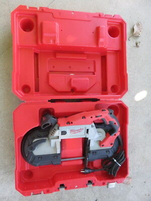 Nice Milwaukee 6232-20 deep cut portable variable speed band saw look