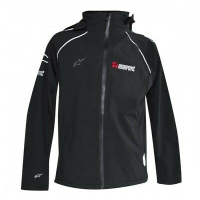 -alpinestars soft shell jacket xl black - Akrapovic 801321