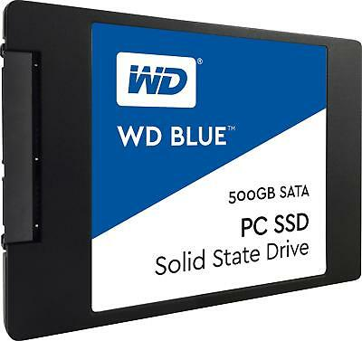 WD - Blue PC SSD 500GB Internal SATA Solid State Drive for Laptops