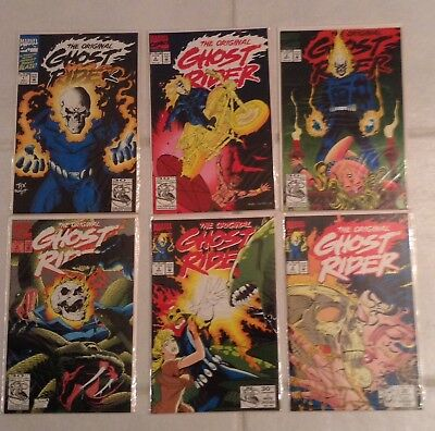 The Original Ghost Rider #1 -6 Lot First Issue Unread NM/MT