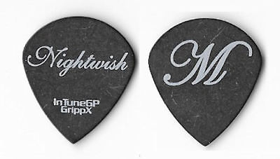 Nightwish white on black Guitar Pick