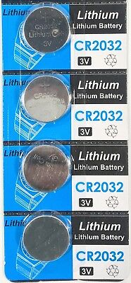 4pc CR2032 3V cc Lithium Coin Cell Battery Button Batteries CR 2032 DL BR