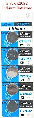 5pc CR2032 3V cc Lithium Coin Cell Battery Button Batteries CR 2032 DL BR