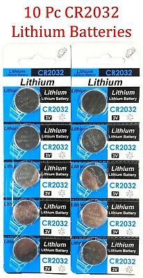 10pc CR2032 3V cc Lithium Coin Cell Battery Button Batteries CR 2032 DL BR