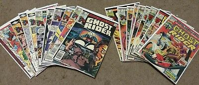 Ghost Rider 20 Issue Lot Marvel Comics Silver Age Bronze Age