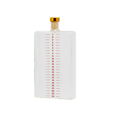 Thumbs Up Flachmann Advent Flask 400ml Borosilicat-Glas Klar/Transparent NEU