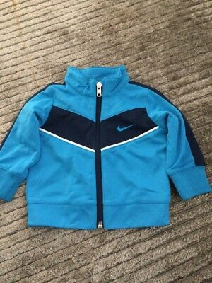 Baby Boys Nike Track Jacket Top New Without Tags Sz 3-6 Mths 0