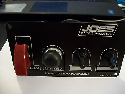 Joes Racing Switch/ Dash Panel Ignition A/c Cover,start Button, 2 Acc. # 46120