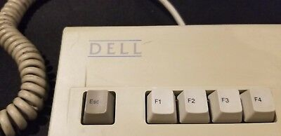 Dell AT101 mechanical keyboard Alps black switches GYUM97SK PS2 clicky bigfoot