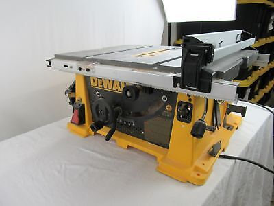 Dewalt Dw745 10 Inch Compact Job Site Table Saw 120v