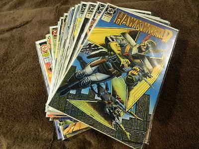 1990 DC Comics HAWKWORLD (3rd Series) #1-32 + Ann. #1-3 Complete Series -1 VF/NM