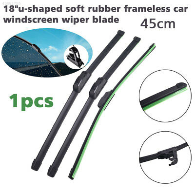 Windshield Wiper Blade U-Type Frameless Wiper Bar Automobile Replacement Soft