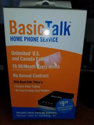 BasicTalk Home Phone Service - First Month FREE! (Model HT701)