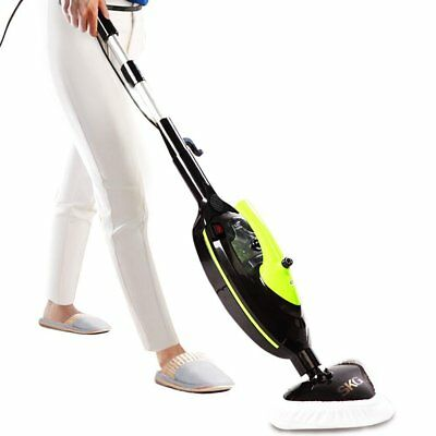 SKG 1500W Powerful Non-Chemical 212F Hot Steam Mops  Carpet and Floor Cleaning