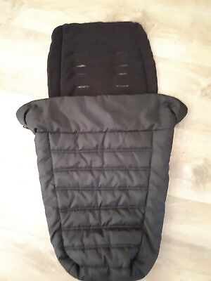 Baby Jogger Black Foot Muff used great condition
